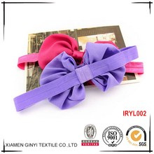 China wholesale custom pretty bowknot baby bulk hair accessories