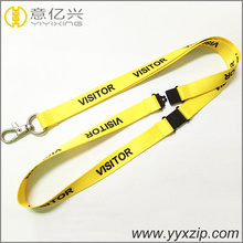 newest design lowest price two safety breakaway buckles neck strap lanyard on hot sale