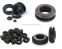 brush grommet small large silicone pvc car automotive Big electrical rubber grommet for sheet metal,pc cable