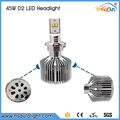 2015 Hot Sale D2 H4 H7 H8 H16 4500lm Super Bright LED Headlight For Car