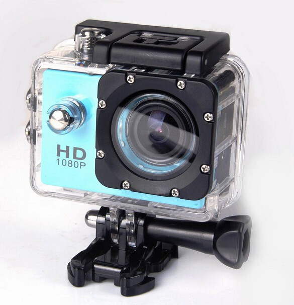 Extreme Action Camera Helmet Waterproof Mini DVR Underwater 1080P Full HD Sports Camera DV Video 12MP Camera