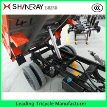 Gas powered adult cargo tricycle with 200cc shineray engine