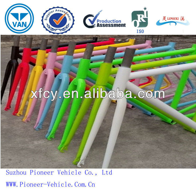 High Strength And High Hardness Chrome Molybdenum Steel Bicycle Frame