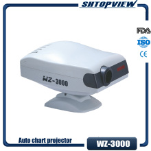 Optical Instrument WZ-3000 LED Bulb Optotypes 30 Charts And 35 Masks Auto Chart Projector
