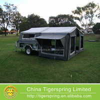 luxury leisure canvas camping tent trailer for 7x4 and 9x4 camping trailer