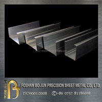 china supplier manufacturing customized box channel steel