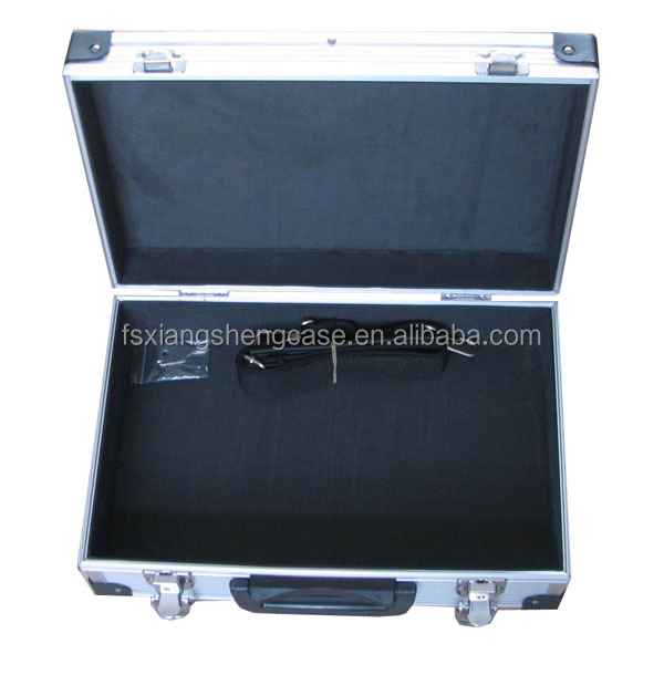 Case type silver Aluminum Tool Case hand tool set multifunctional tool flight kit