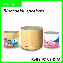 Plug card waterproof colorful bluetooth speakers pa system