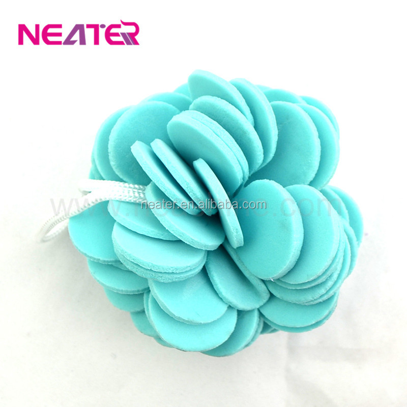 2016 newest natural sponge for baby/exfoliator loofah bath sponge