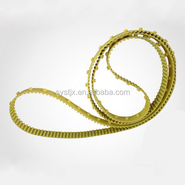 Chinese double side teeth special order PU polyurethane timing belt
