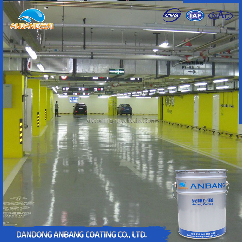 AB-DP-300M indoor parking lot epoxy floor paint wear-resistant coating for concrete floor