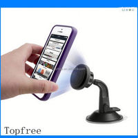 Chinese supplier newest flexible magnetic mobile phone car mount kit