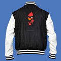 Custom Varsity Jacket With Wool Body and Leather Sleeves Varsity Jacket Supplier , Custom Varsity Jacket & Embroidery