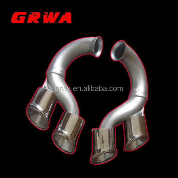 China Supply Silver Exhaust Muffler Tail Ends Exhaust Tips Fit for Porsche Cayenne