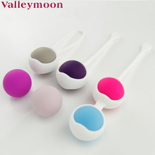 Best selling silicone balls vagina exercise weights set kegel ball