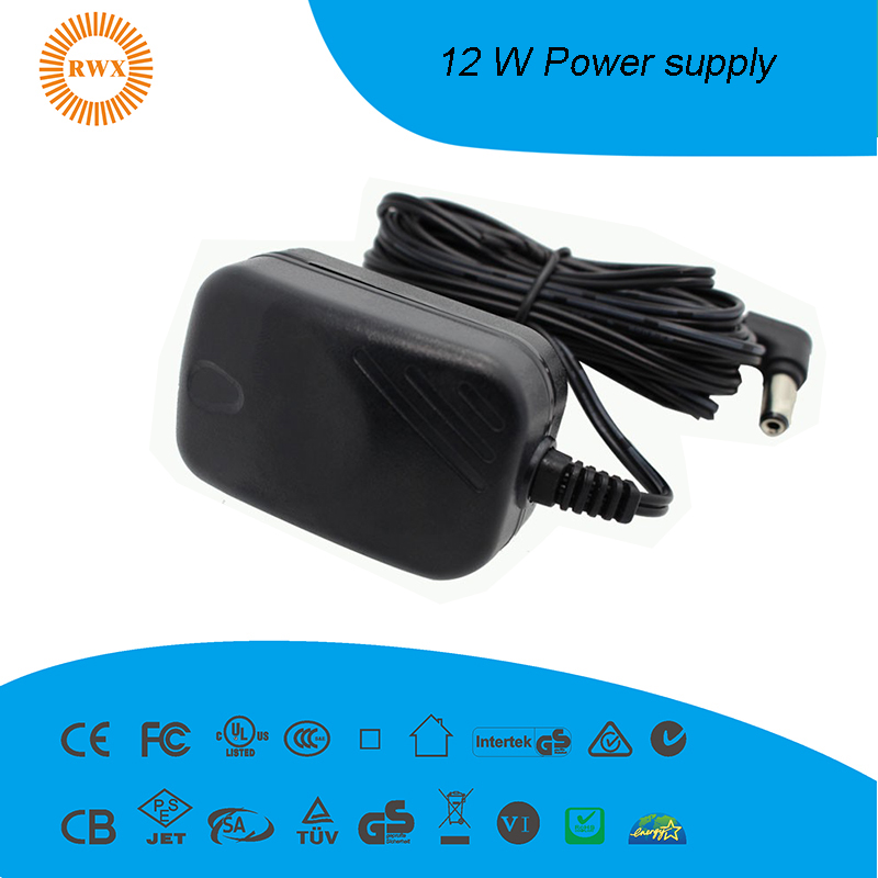 12W power adapter UL/CE/FCC/GS/SAA
