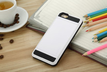 2015 Newest high-class card slot cases at affordable prices for Iphone 4G