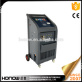 Full automatic ac gas R134a recycling machine, ac system pipeline flushing-cleaning machine