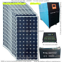 Factory direct sale 2000 w solar power system Outdoor power emergency system 2000 w solar panel