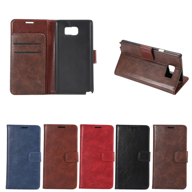 For Samsung Galaxy Note 5 Case / Wallet Flip Leather Cover Case For Samsung Galaxy Note 5
