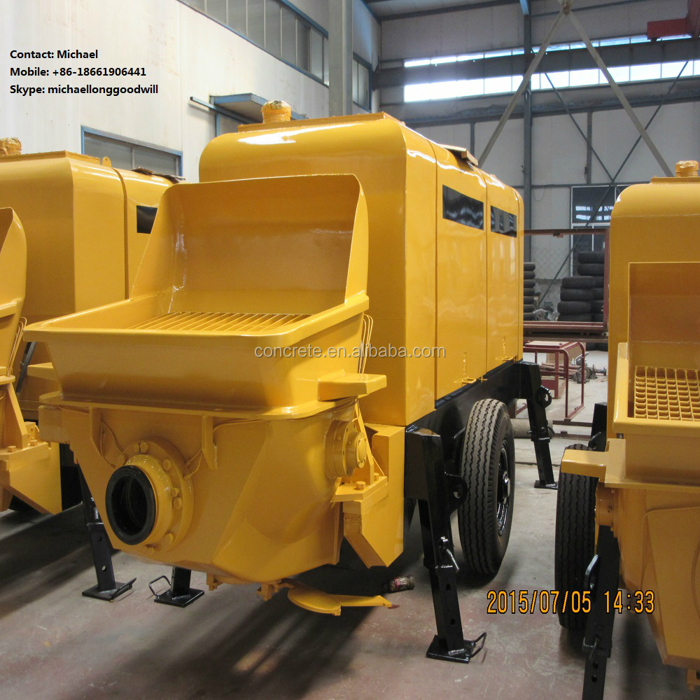 hot sales competitive prices China factory concrete pumps diesel engine 15m3/h output Alibaba supplier hot sale