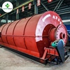 Batch type Processing scrap old tires to tyre oil pyrolysis machine
