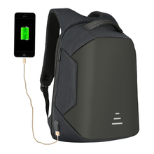 2017 rfid anti thief usb charging male women backpack bag with laptop compartment and usb charging device