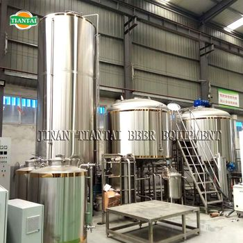 Chinese Beer Equipment Supplies 2500L/25HL Micro Brewing System On -Site Free Installtation Training