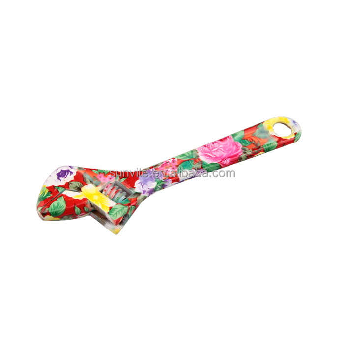Floral Printing Hand Tools Adjustable Wrench Spanner