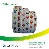 High quality OEM design free designed gift wrapper christmas wrapper design tattoo sticker
