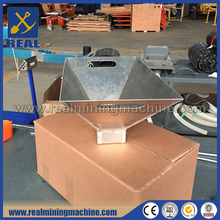 Gold washing pan for gold mining equipment in final step gold separating