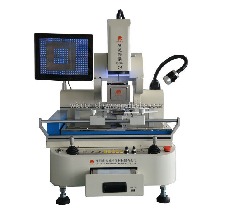 Newest Arrival!DS-800A high full-auto soldering station bga rework station camera for weldering lcd repair machine