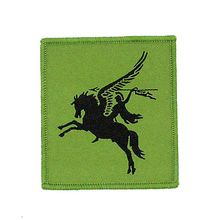High quality Custom Iron on woven patches woven badge for clothing