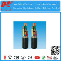 insulated pvc cable pvc thin insulated copper wire pvc jacket xlpe insulated cable