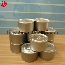 83mm solid fuel alcohol hot pot plain round empty tin can manufacturer