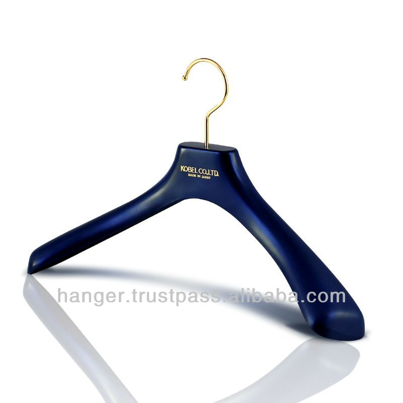 Japanese Durable Plastic Luxury Suits Hanger for Elegant Evening Dress