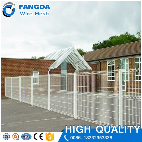 promotional Powder Coated Cyclone Wire Fence Metal Security 3D Fence
