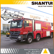 60m SHANTUI water tower fire truck JP60