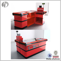 cashier table design,supermarket cashier counter table