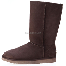 JLX 2015 the latest design, winter Australian sheepskin wool-one chocolate color classical snow boots wholesale