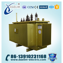 Step Down 33kv/6.6kv 15mva Three Phase Oil Immersed Power Transformer
