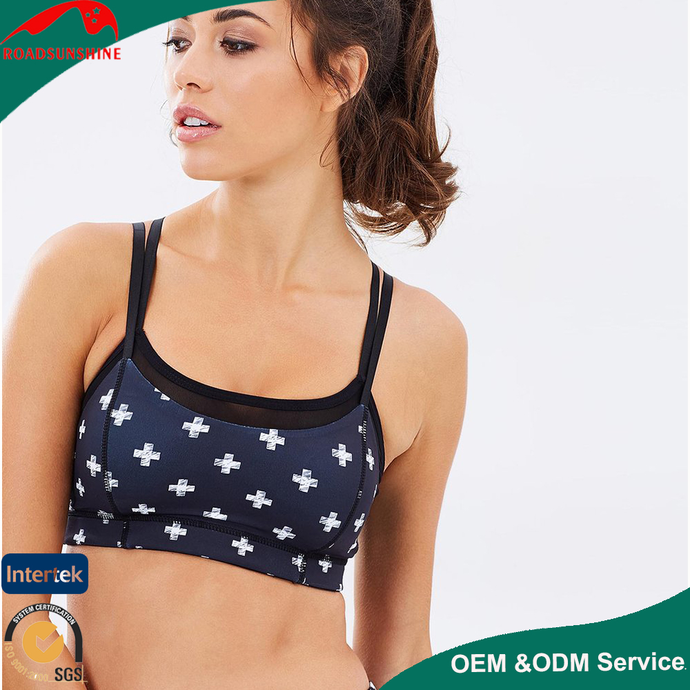 Mesh under wear bra sportswear for women fitness workout bra for women