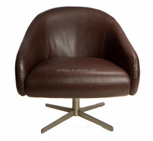 Brown Living Room Used Swivel Chair/ Home Furniture Armchair