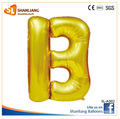 "Gold Letter B Foil balloon, 16"" 30"" 40"" Mylar Numbers and Letter Balloon"