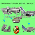 horizontal mixed flow washing machine/fruit washing machine/vegetable wasing machine