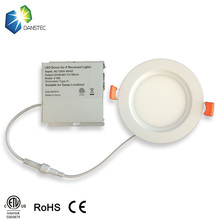 Shenzhen factory 4'' 9W cETL(5004879) led <strong>flat</strong> panel lighting with isolated driver junction box