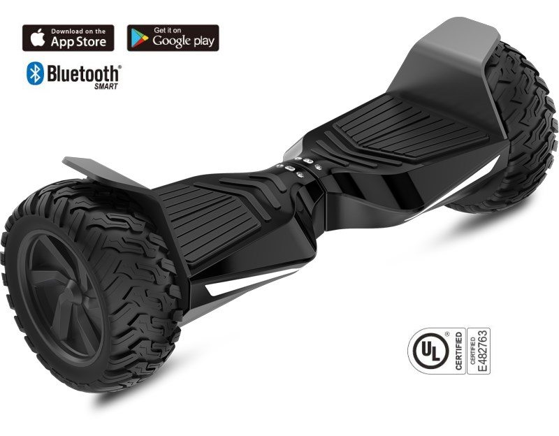 Off Road UL2272 Electric Hoverboard Fast 800W 8.5inch CE FCC ROHS With Bluetooth