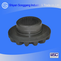Dongfeng D375 T375 truck axle parts rear side gear- bevel gear differential 2402ZS01-335-B