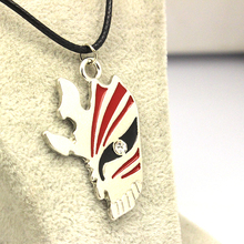 Top Real Fashion Enamel Jewelry New Statement Anime Bleach Mask Necklace