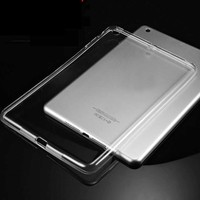Ultra Thin Protector case for 9.7 ipad pro Transparent Crystal TPU tablet 9.7 inch Back Case